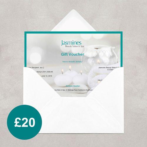 Beauty Salon £20 Gift Voucher